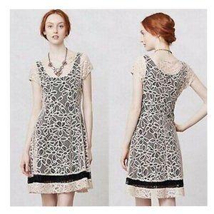ANTHRO WESTON WEAR Crochet Boho A-Line Dress
